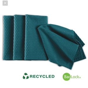 TEAL colored Norwex napkins set of 4